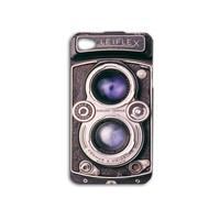 Vintage Camera Case Purple Lens iPhone Case iPhone4 Case iPhone 5 Case iPhone 5s Case iPhone 4s Case iPod Touch Case iPod 4 iPod 5 Cute Case