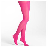 Hot Pink Fashion Opaque Tights via Betsyville
