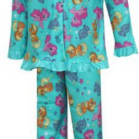 My Little Pony Applejack and Pinkie Pie Toddler Pajama Set for girls