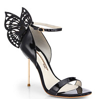 Flutura 4 Butterfly Patent Leather Sandals