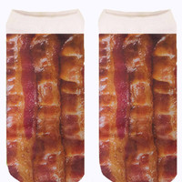 BACON ANKLE SOCKS