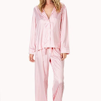 Candy Striped PJ Set
