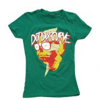Dot Dot Curve Hypnoskull Girls T-Shirt Plus Size