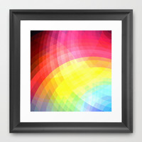 Cheerful Framed Art Print by Ornaart