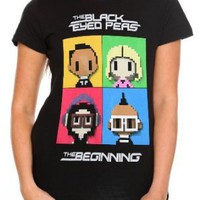 The Black Eyed Peas Cartoon Girls T-Shirt