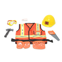 Melissa and Doug Toys: Construction Role Play Costume Set