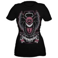 Bring Me The Horizon Bat Key Girls T-Shirt Plus Size