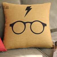 Harry potter pillow pillows cushion for leaning on pillowcover pillow sham