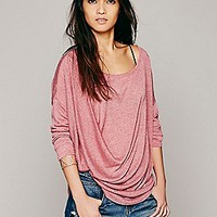 Free People Womens Buckley Drape Top