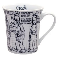Disney Sketchbook Goofy Mug, Set of 4