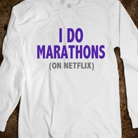 I DO MARATHONS (ON NETFLIX) - underlinedesigns