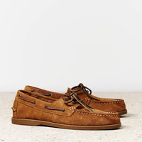 's Suede Boat Shoe (Tan)