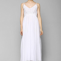 Raga Crochet-Bodice Maxi Dress - Urban Outfitters