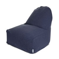 Linen-Twill Kick-It Chair