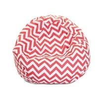 Small Classic Printed Bean Bag