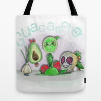 Guacamole Tote Bag by Ben Geiger