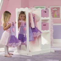 Dress Up Center with Storage