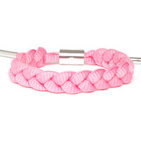 Breast Cancer Shoelace Bracelet (Pink)