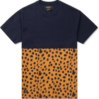 Cheetah Raise Up Split T-Shirt