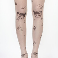 Kitty Charm Kinda Life Tights