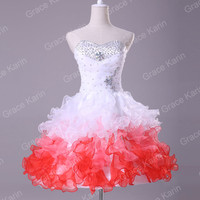 GK New Short Mini Formal Prom Cocktail Ball Evening Party Gown Homecoming Dress