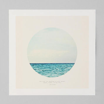 Tina Crespo Salt Water Cure Art Print- Multi One