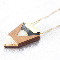 Amulet Necklace by Wolf and Moon
