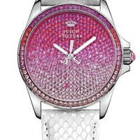 Juicy Couture 'Stella' Crystal Embellished Watch, 40mm