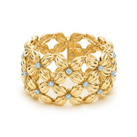 Tiffany & Co. - Tiffany & Co. Schlumberger® Daisy bracelet in 18k gold with diamonds.