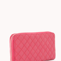 Iconic Quilted Faux Leather Wallet