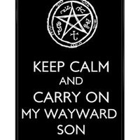 Keep Calm Supernatural Iphone 5 Case