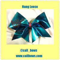 Rhinestone Hnag Loose Bow with seashells as seen on Instagram