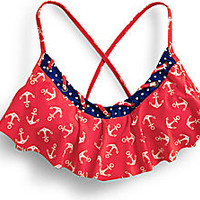 Anchor Hanky Top