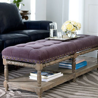 """Easton"" Bench - Horchow"