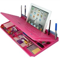 Pink Keyboard Organizer for Bluetooth
