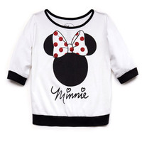 Glittered Minnie Top (Kids)