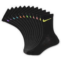 Nike 6-Pack Multi-Color Swoosh Kids' Crew Socks