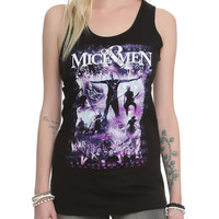 Of Mice Men Live Girls Tank Top