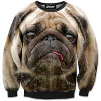 Stressed pug sweatshirt