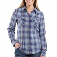 Carhartt® Ladies' Annapolis Long Sleeve Button Front Shirt - Tractor Supply Co.
