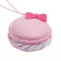 Macaroon With Bow Squishy Charm | £2.95 | Buy @ Something Kawaii UK