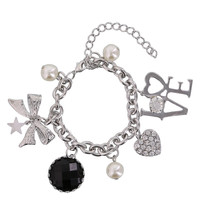 Women's Love Multi-Charm Bracelet