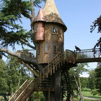 Real Fairytale Houses in Trees Photos 1 - Real Fairytale Houses in Trees pictures, photos, images