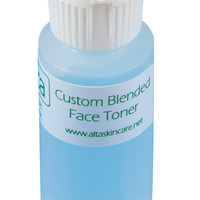 Natural Face Toner Custom Blended To Order, Botanical, Anti Aging Facial Toner or Acne Toner, Skin Care