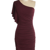 Tasting Room Dress in Wine