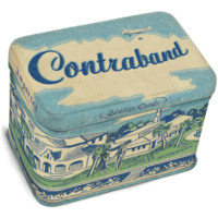 Contraband Jr. Treasure Tin Box