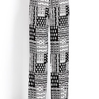 Eclectic Wide-Leg Pants