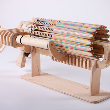 Rubber Band Machine Gun with unique Fast Charger — Kickstarter