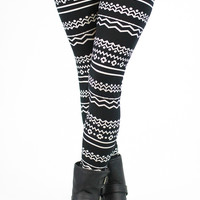 Tribal Tattoo Leggings