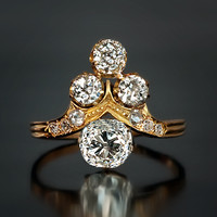 Belle Epoque Ladies' Diamond Ring